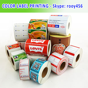 Colour Label Printing