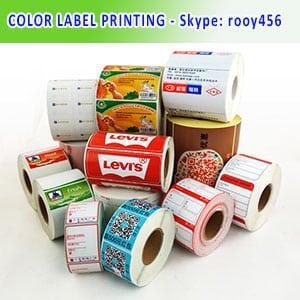 Colour Label Printing