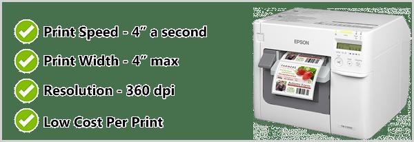 Máy in nhãn màu Epson C3500