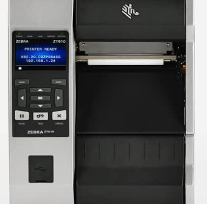 Máy in mã vạch công nghiệp ZT610