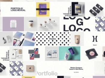 Portfolio Logo Reveal